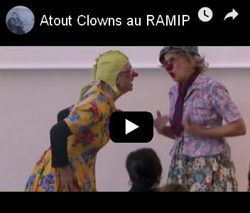 clown acteur social au Réseau des Professionnels de l'Addiction- RAMIP